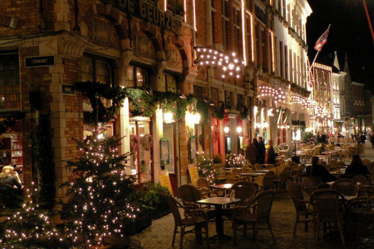 christmas holiday in Bruges